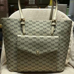 Michael Kors MK Signature Tote Handbag